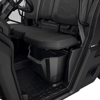 Aufbewahrungsbehälter unter dem Fahrersitz
