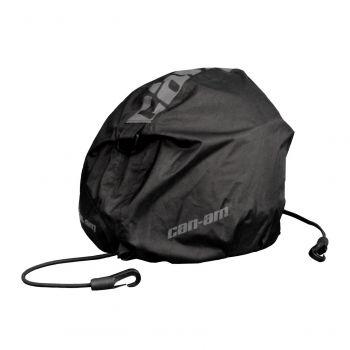 Integrierte Helmtasche
