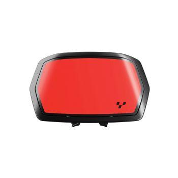 Aufkleber für Instrumentenspoiler - Adrenaline Red