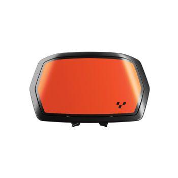 Aufkleber für Instrumentenspoiler - Orange Blaze