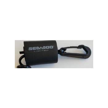 Schwimmfähige D.E.S.S.™ Sicherheitsleine, GTX Ltd - Schwarz